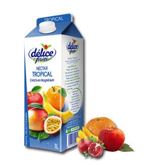 Jus Délice de fruits Nectar Tropical 1 l