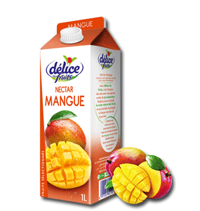 Jus Délice de fruits Nectar Mangue 1 l